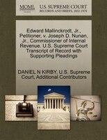 Edward Mallinckrodt, Jr., Petitioner, V. Joseph D. Nunan, Jr., Commissioner Of Internal Revenue. U…