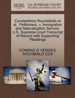Constantinos Roumeliotis Et Al., Petitioners, V. Immigration And Naturalization Service. U.s…