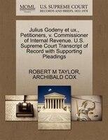 Julius Godeny Et Ux., Petitioners, V. Commissioner Of Internal Revenue. U.s. Supreme Court…