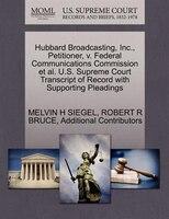 Hubbard Broadcasting, Inc., Petitioner, V. Federal Communications Commission Et Al. U.s. Supreme…