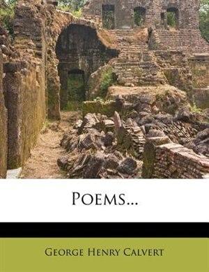 Poems... by George Henry Calvert