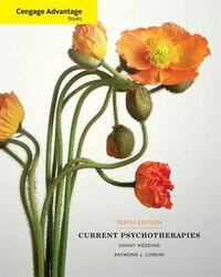 Cengage Advantage Books: Current Psychotherapies
