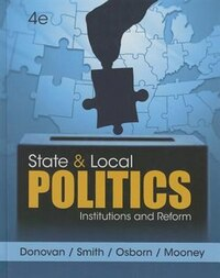 State And Local Politics: Institutions And Reform