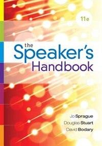 The Speaker's Handbook, Spiral Bound Version by Jo Sprague