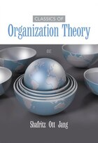 Classics Of Organization Theory