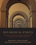 Custom Bio-medical Ethics - Nvcc