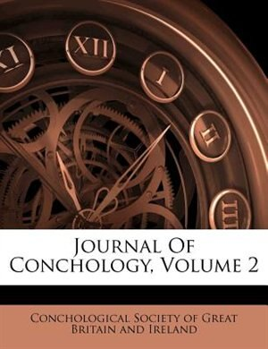 Journal Of Conchology Volume 2