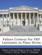 Failure Criteria For Frp Laminates In Plane Stress