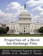 Properties Of A Novel Ion-exchange Film