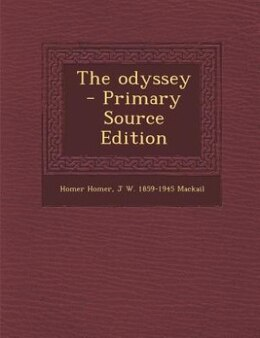 Book The odyssey  - Primary Source Edition by Homer Homer