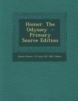 Book Homer. The Odyssey  - Primary Source Edition by Homer Homer