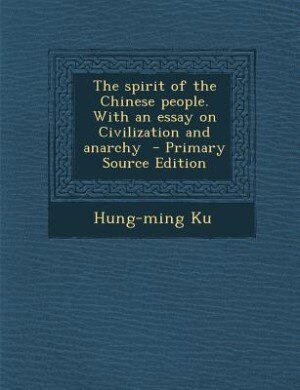 the spirit of the chinese people
