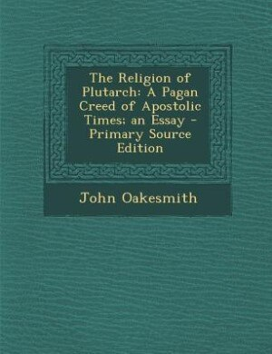 an essay on the old religion paganism