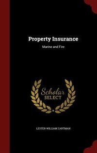 Property Insurance: Marine and Fire