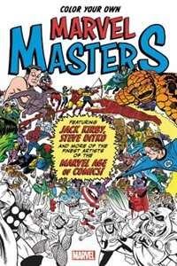 Color your own marvel masters by marvel comics