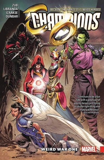 Champions Vol. 5: Weird War One by Jim Zub