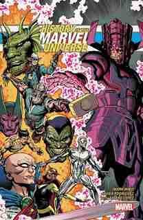 History Of The Marvel Universe Treasury Edition by Mark Waid