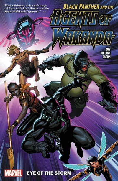 Black Panther And The Agents Of Wakanda Vol. 1: Eye Of The Storm by Jim Zub