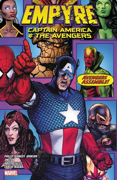 Empyre: Avengers by Jim Zub