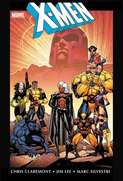 X-men By Chris Claremont & Jim Lee Omnibus Vol. 1 by Chris Claremont