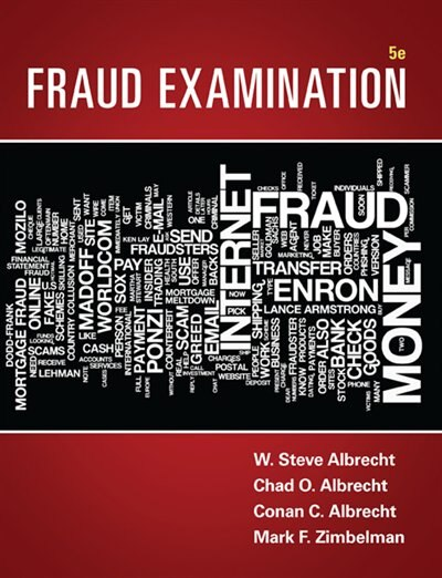 Fraud Examination by W. Steve Albrecht