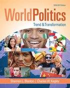 World Politics: Trend And Transformation, 2016 - 2017