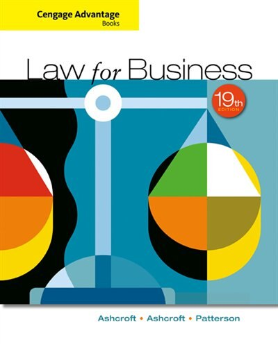 Cengage Advantage Books: Law For Business by John D. Ashcroft