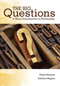 The Big Questions: A Short Introduction To Philosophy