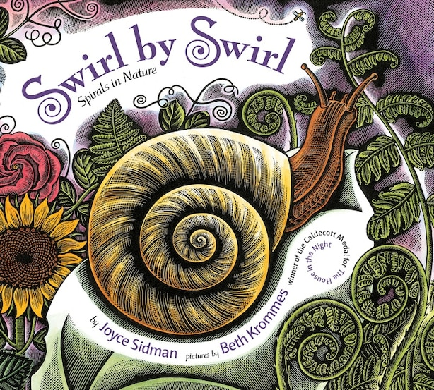 Swirl By Swirl (board Book): Spirals In Nature by Joyce Sidman