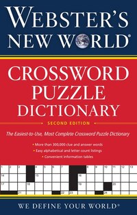 Webster'apos;s New World(tm) Crossword Puzzle Dictionary, 2nd Ed.