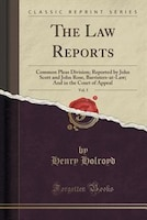 The Law Reports, Vol. 5: Common Pleas Division; Reported by John Scott and John Rose, Barristers-at…