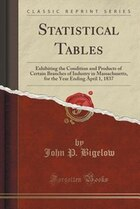 Statistical Tables: Exhibiting the Condition and Products of Certain Branches of Industry in…