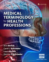 Medical Terminology For Health Professions (hardcover)