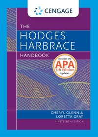 Hodges Harbrace Handbook, 2016 Mla Update