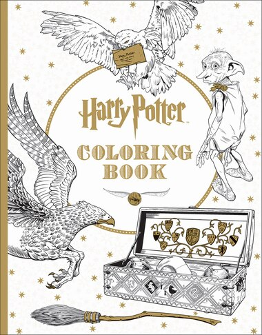 Harry Potter: Coloring Book, Book by Scholastic Inc (Paperback ...