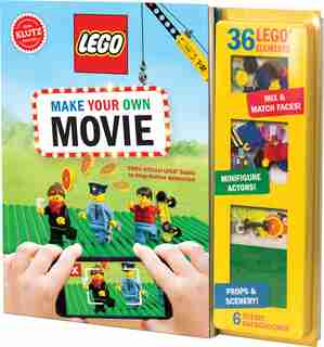 Klutz: LEGO® Make Your Own Movie: 100% Official Lego Guide To Stop-motion Animation by Editors of Klutz