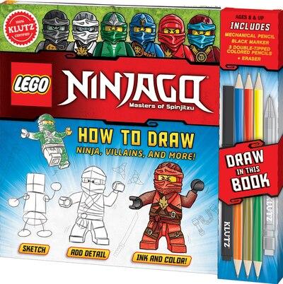 Klutz Lego Ninjago How To Draw Ninja Villains And More Book