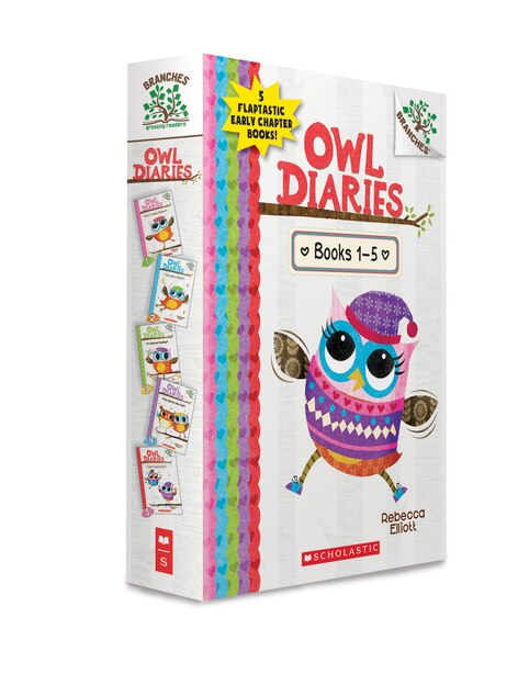 Owl Diaries  Books 1-5 (Box Set) by Rebecca Elliott