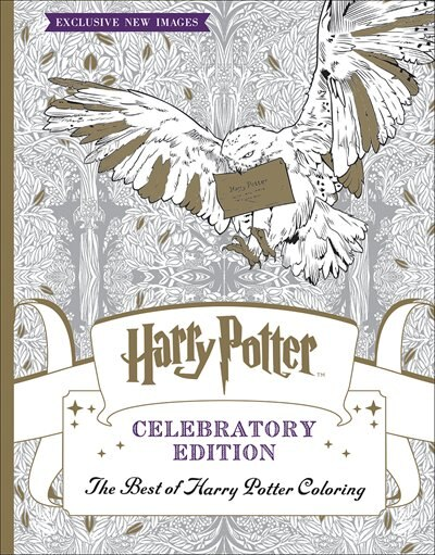 The Harry Potter Coloring Book: Celebratory Edition: The Best of Harry Potter Coloring