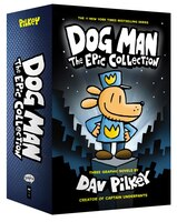 Dog Man: The Epic Collection: From the Creator of Captain Underpants (Dog Man #1-3 Boxed Set)