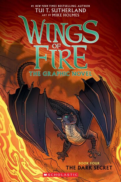The Dark Secret (wings Of Fire Graphic Novel #4): A Graphix Book by Tui T. Sutherland
