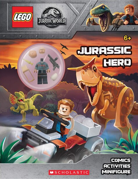 LEGO Jurassic World: Jurassic Hero: Activity Book with Minifigure by * Ameet Studio
