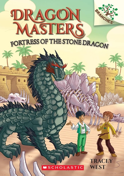 Fortress Of The Stone Dragon: A Branches Book (dragon Masters #17) by Tracey West