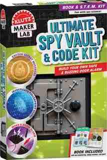 Klutz Lab: Ultimate Spy Vault & Code Kit by Editors of Klutz