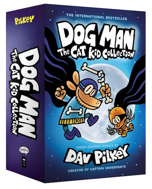 Dog Man: The Cat Kid Collection (Books 4-6) by Dav Pilkey