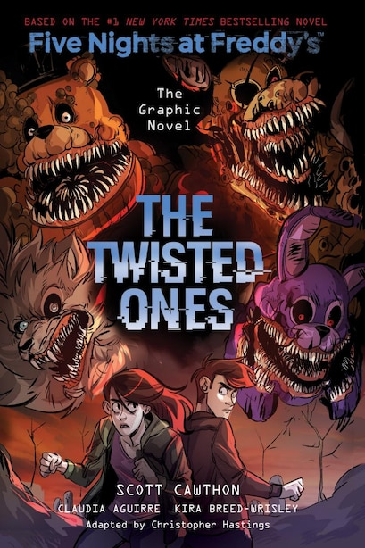 The Twisted Ones (five Nights At Freddy's Graphic Novel #2) by Scott Cawthon