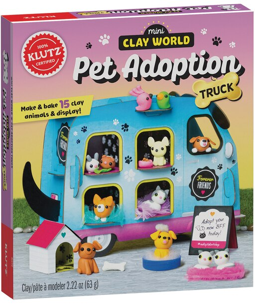 Mini Clay World Pet Adoption Truck by Editors of Klutz