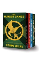 Hunger Games 4-book Hardcover Box Set (the Hunger Games, Catching Fire, Mockingjay, The Ballad Of…