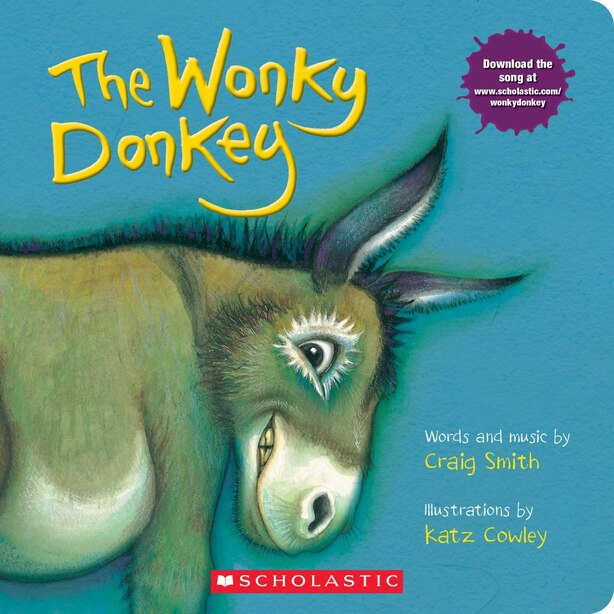 The Wonky Donkey: A Board Book by Craig Smith