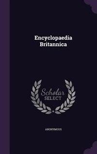 Encyclopaedia Britannica de Anonymous